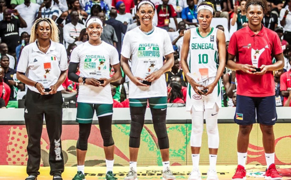 Afrobasket 2019 : Kalu MVP, Astou Traoré meilleure ailière