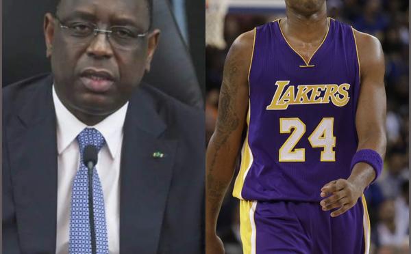 Macky Sall rend hommage à Kobe Bryant