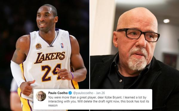 Disparition : l'écrivain Paolo Coelho arrête un livre pour enfant qu'il écrivait avec Kobe Bryant