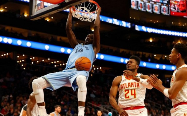 NBA : victoire de Memphis), Gorgui Sy Dieng réussit un double-double (127-88)