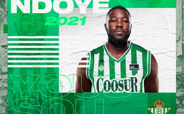 Basket : Youssou Ndoye signe au Real Betis