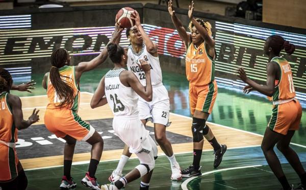 AFROBASKET DAME : Vainqueur de la Cote d'Ivoire, Le Nigéria file en demi-finale
