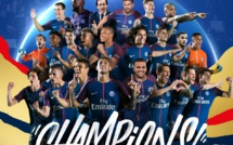 Ligue 1 : le PSG s'offre son 7e titre de champion de France en écrasant Monaco de Keita Baldé 7-1