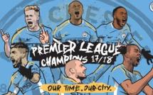 Manchester City sacré champion d'Angleterre après une saison de rêve
