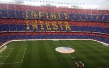 Liga dernière journée :Camp Nou rend hommage à Iniesta par une victoire