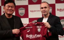 Officiel : Andrés Iniesta signe au Vissel Kobe (Japon)