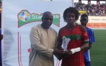 Match Pikine-Jaraaf : Mamadou Chérif Diallo élu homme du match a régalé le public