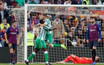 Liga : Bétis Séville surprend Barça !