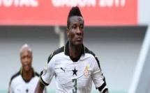 Ghana : pour une question de brassard Asamoah Gyan boude la sélection