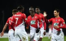 Coupe de France : avec un doublé Keita Baldé envoie Monaco en 8e