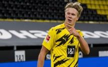Bundesliga : Dortmund renverse Hertha Berlin, quadruplé pour Håland